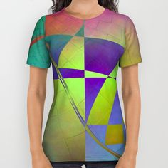 Buy Multicolored abstract no. 70 All Over Print Shirt by Christine baessler. Worldwide shipping available at Society6.com. Just one of millions of high quality products available.