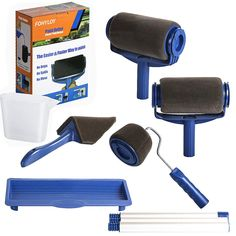 Edge Painting Tool, Painting Tools, House Painting, Roller Set, Brush Kit, Paint Brushes, Wall, Walls