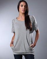 William Rast Inspired Grommet Sleeve Sweatshirt DIY | Smart n Snazzy