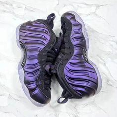 a4a9365795e3 2018 Nike Air Foamposite One Purple Black Sale Foam Posites