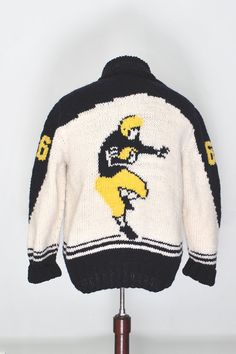 8 Best Retro Curling Sweaters Images Crochet Pattern