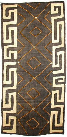 Hand-woven Kuba raffia cloth from The Congo. The African Fabric Shop : Textiles, beads and inspiration from Africa Tribal Patterns, Textile Patterns, Textile Design, Textile Art, African Patterns, African Interior, African Home Decor, African Textiles, African Fabric