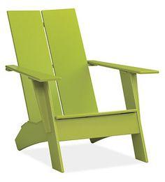 Emmet Outdoor Lounge Chair & Ottoman - Modern Outdoor Lounge Seating - Modern Outdoor Furniture - Room & Board