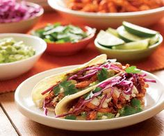 Recipes from Fine Cooking for the ultimate taco party