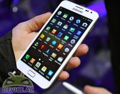 white galaxy note #samsung #android