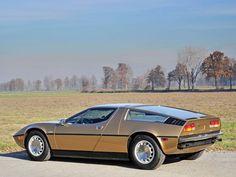 1974 Maserati Bora 4.9 | V8, 4 930 cm³ | 320 BHP | Design: Giorgetto Giugiaro, Ital Design