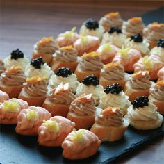 Mouthwatering cold canapes from Bertrand Munier are guaranteed to set the mood for your event. Choose from a variety of delicious cold canapes for you party and get them delivered to your doorstep. Canapes Recipes, Appetizer Recipes, Appetizers, Catering, Gluten Free Puff Pastry, High Tea, Clean Eating Snacks, Quick Easy Meals, Afternoon Tea