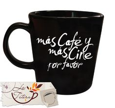 mug blanco y negro black and white  PERSONALIZA TU MUG COMO EL NOMBRE O FRASE QUE QUIERAS!!  www.lateteramugs.com