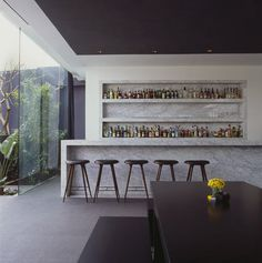 Distrito Capital a newish hotel in the Santa Fe neighborhood and business district of Mexico City, Mexico. The building created by Diametro Arquitectos with interiors by Joseph Dirand