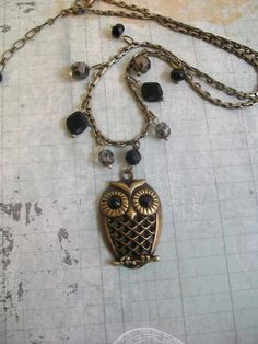 i love owl jewlery(: