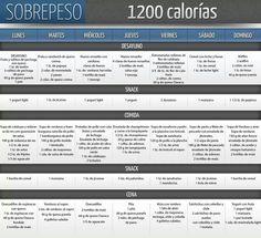 dieta vegetariana 1200 kcal