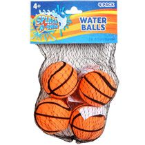 Sensory:  Water balls are great, light balls to have in your sensory toolbox/room that can get thrown and no one gets hurt when they're hit in the head by one!