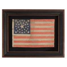 Jeff Bridgman Antiques and American Flags - 30 STARS, PRE-CIVIL WAR, RARE AND BEAUTIFUL WITH A MEDALLION CONFIGURATION THAT FEATURES A HALOE...
