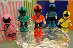 Dolcezze E Magia Power Rangers Cake
