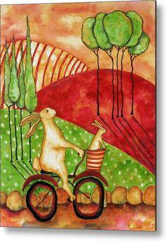 Image result for whimsical rabbit art