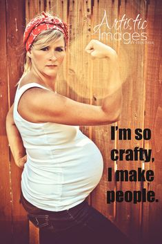 I make people!