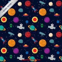 Patrón del espacio  | Descargar Vectores gratis