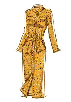 Dress Design Drawing, Dress Design Sketches, Dress Drawing, Fashion Design Drawings, Fashion Sketches, Fashion Drawing Dresses, Clothing Sketches, Miss Dress, Elie Tahari