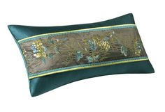 Natori Bedding Potala Palace Decorative Oblong Pillow Deep Teal