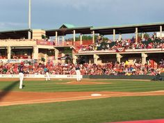 Good night for baseball @erie_seawolves