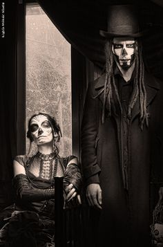 Calavera & Baron Samedi by LightsMakerStudio, via Flickr