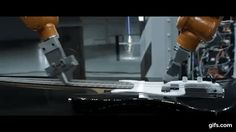 Industrial robots playing traditional instruments https://link.crwd.fr/47LK