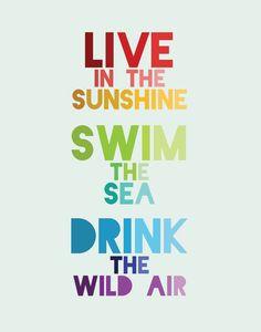 Live, Swin, Drink