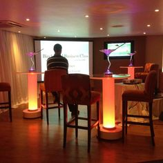 #LEDtable #cocktailtable #ledlights #led #ledlighting #leddecor #eventdecor #ledfurniture ##Crystaltable Led Furniture, Cocktail Tables, One Color, Event Decor, Indoor, Colours, Crystals, Home Decor, Interior