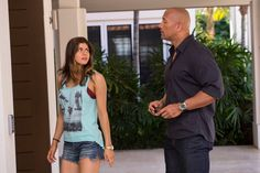 Lr ALEXANDRA DADDARIO as Blake and DWAYNE JOHNSON as Ray in the action thriller SAN ANDREAS a production of New Line Cinema and Village Roadshow Pictures released by Warner Bros Pictures Credit Jasin Boland  2015 WARNER BROS ENTERTAINMENT INC WV FILMS IV LLC AND RATPACDUNE ENTERTAINMENT LLC  US CANADA BAHAMAS  BERMUDA  2015 VILLAGE ROADHSOW FILMS BVI LIMITED WARNER BROS ENTERTAINMENT INC AND RATPACDUNE ENTERTAINMENT LLC  ALL OTHER TERRITORIES