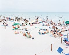 Massimo Vitali - I really want a large format beach photograph