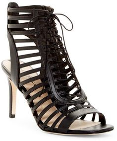 Via Spiga Valena Lace-Up Cage Sandal