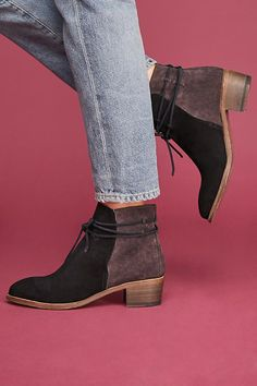 Peter Nappi Ludovica Tied Boots #ad #AnthroFave #AnthroRegistry Anthropologie