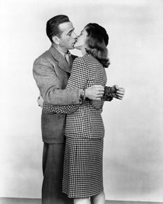 Humphrey Bogart and Lauren Bacall in To Have and Have Not (1944).
