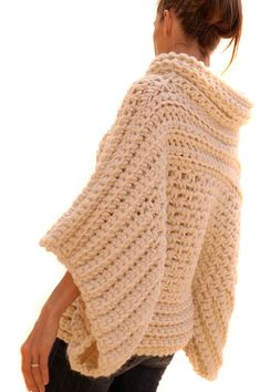 Instructions to make: the Crochet Brioche Sweater by karenclements