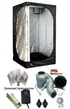 A complete Secret Jardin grow tent kit which includes the essential equipment for setting up a quality grow room. The high quality branded equipment will give years of successful indoor gardening and ...