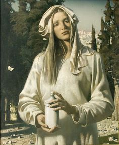 Resurrection Morning Maria Magdalina by Julia Bekhova, 1997