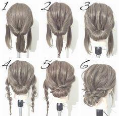 Wonderbaarlijk Haar Opsteken Bruiloft Gast Knap 37 Beste Afbeeldingen Van Hair YZ-18