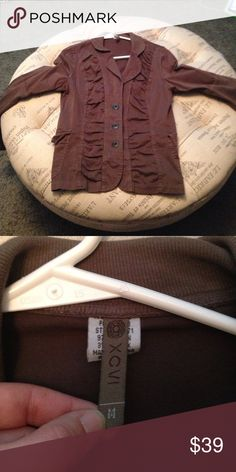 XCVI brown jacket size M Only worn a handful of times XCVI brown jacket size M sku 249 XCVI Jackets & Coats