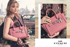 Ad Campaign | Coach New York Spring 2017 ft. Chloë Grace Moretz by Steven Meisel
