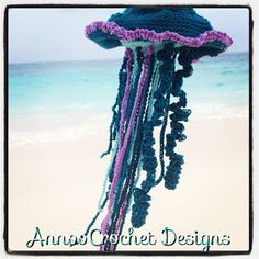 Annoo's Crochet World: My Friendly Version Of A Portuguese Man O War Free Pattern
