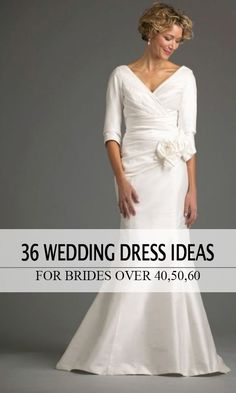 10 Wedding Gowns Perfect For Women Over 50 | wedding | Pinterest ...