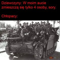 Girls: only 4 people can fit in my car Boys: Very Funny Memes, True Memes, Polish Memes, Best Memes, Funny Cute, Haha, Fan Art, Humor, Instagram Posts