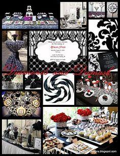 Ideas....Damask theme ideas & also sunflower theme ideas.