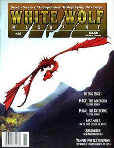 El Descanso del Escriba: White Wolf Magazine/White Wolf Inphobia(1986-1995)...