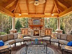 gemauerten gartenkamin bauen ideen terrasse stein | garten