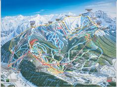 pictures of telluride colorado | Telluride, Colorado Trail Map See map details From www.skiorganizers ...