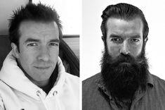 This Man Got Stupidly Hot After He Spent A Year Growing A Beard