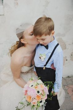 a cutie in suspenders Photography by Amy Carroll Photography / acarrollphotography.com, Event Styling by P.S. Creative / pscreativestudio.com/, Floral Design by Kim Starr Wise Floral Events / kimstarrwise.com #RingBearer