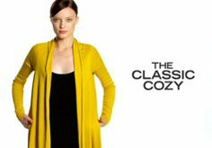 THE CLASSIC COZY.  Cool videoes on different ways to wear the cozy!  Now I know!