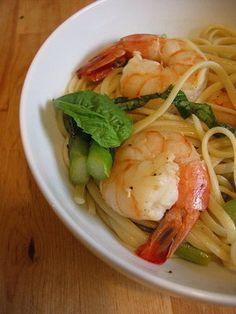 Celebrate Spring With Asparagus and Shrimp Pasta